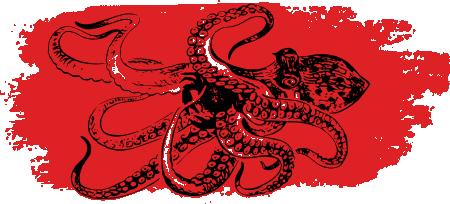 Чиме се храни октопод?
